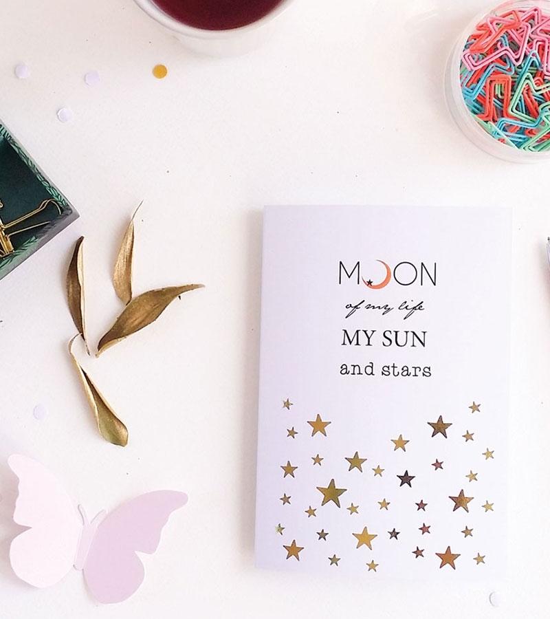 Felicitare - Moon of my life6