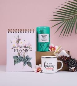 Pachet cadou pentru femei organizate - 5 Minute Journaling for My Morning Plans_catbox 1