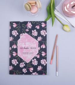 Planner anual format A4 nedatat - 365-Days_Secret-Garden_daily-planner_monthly-planner_agenda_organizare 1