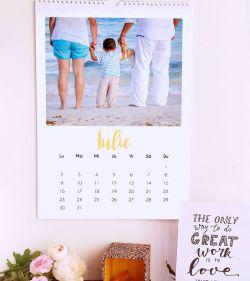 calendar de perete 2018 personalizat cu poze ladz cozac 6