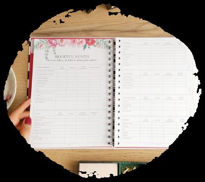 Agenda de nunta Wedding Planner Lady Cozac. Ghid de organizare a nuntii_descriere_bugetul nuntii