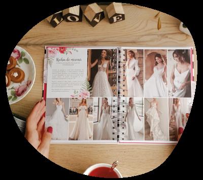 Agenda de nunta Wedding Planner Lady Cozac. Ghid de organizare a nuntii_descriere_rochia de mireasa