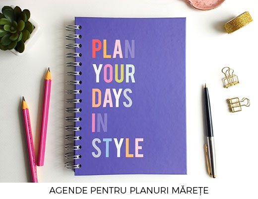 Agenda Plan in Style Lady Cozac