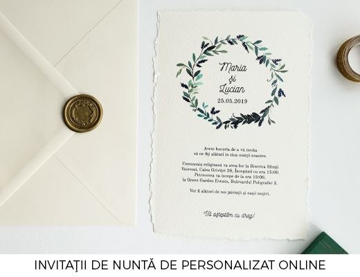Invitatii de nunta Lady Cozac